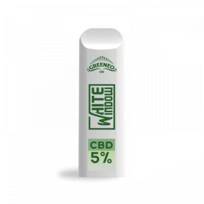Greeneo POD White Widow CBD 5% (Greeneo)