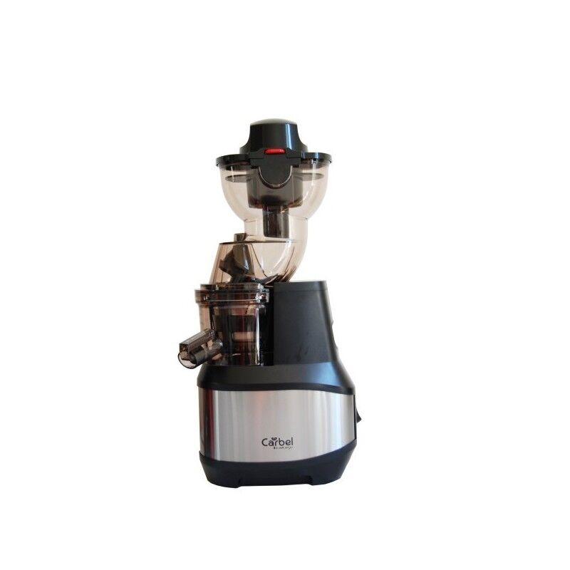 Carbel - Extracteur de jus CARBEL GG Premium couleur Inox - Extraction Fruits/Légumes entiers