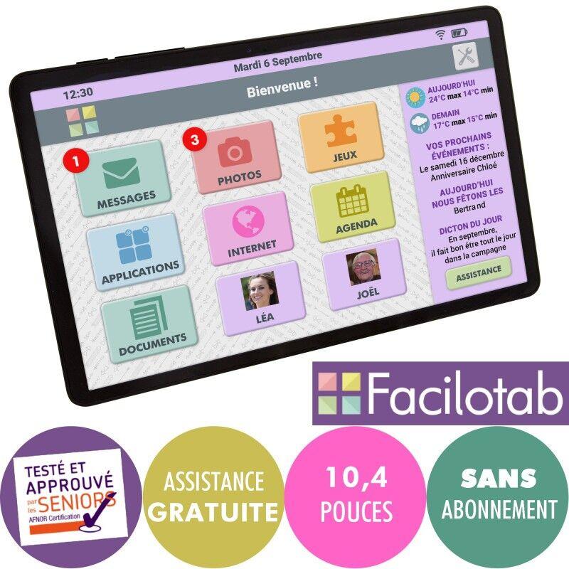 Facilotab Tablette Facilotab L SAMSUNG Galaxy WiFi - 32Go - Android 10 - 10,4 pouces
