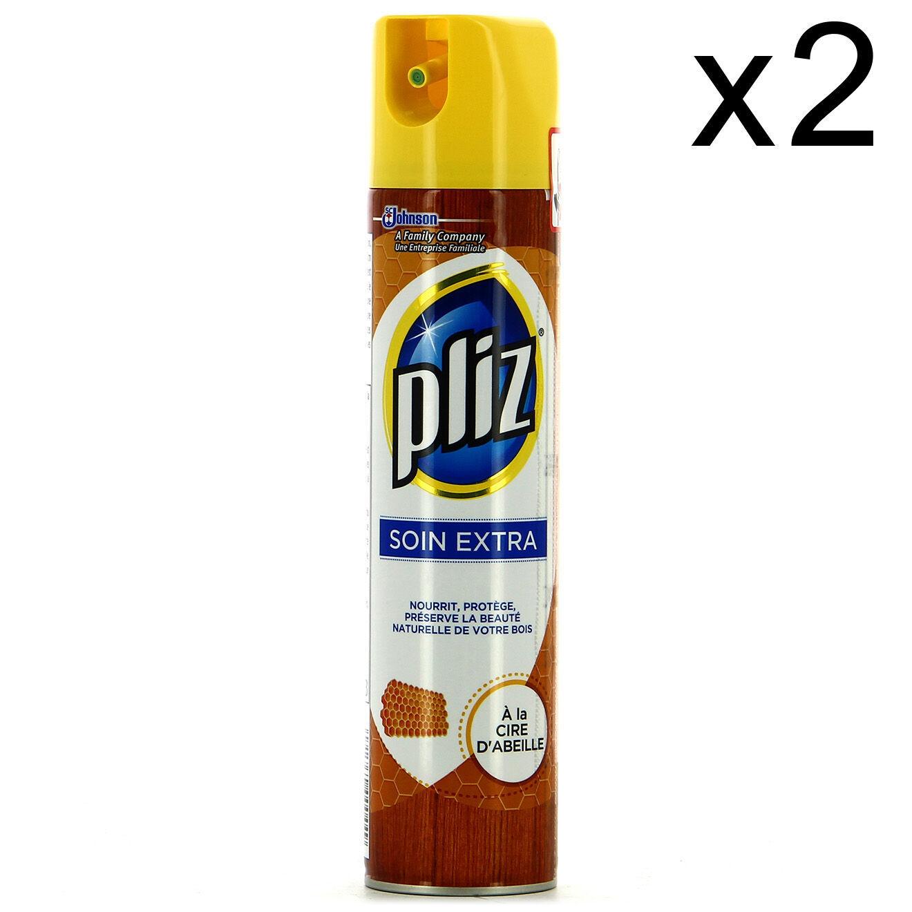 Pliz 2 Soins extra Pliz à la cire d'abeille 2x250 ml