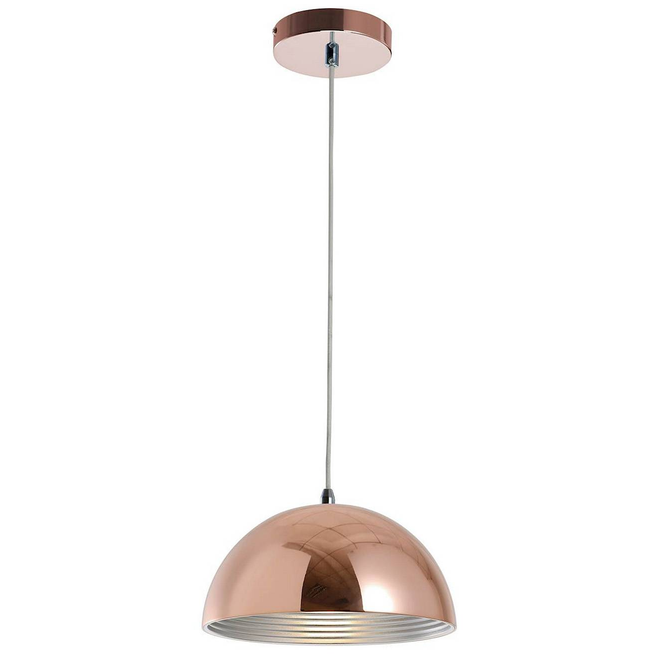 Light & Co Suspension Mads cuivrée - D.30xH.145 cm