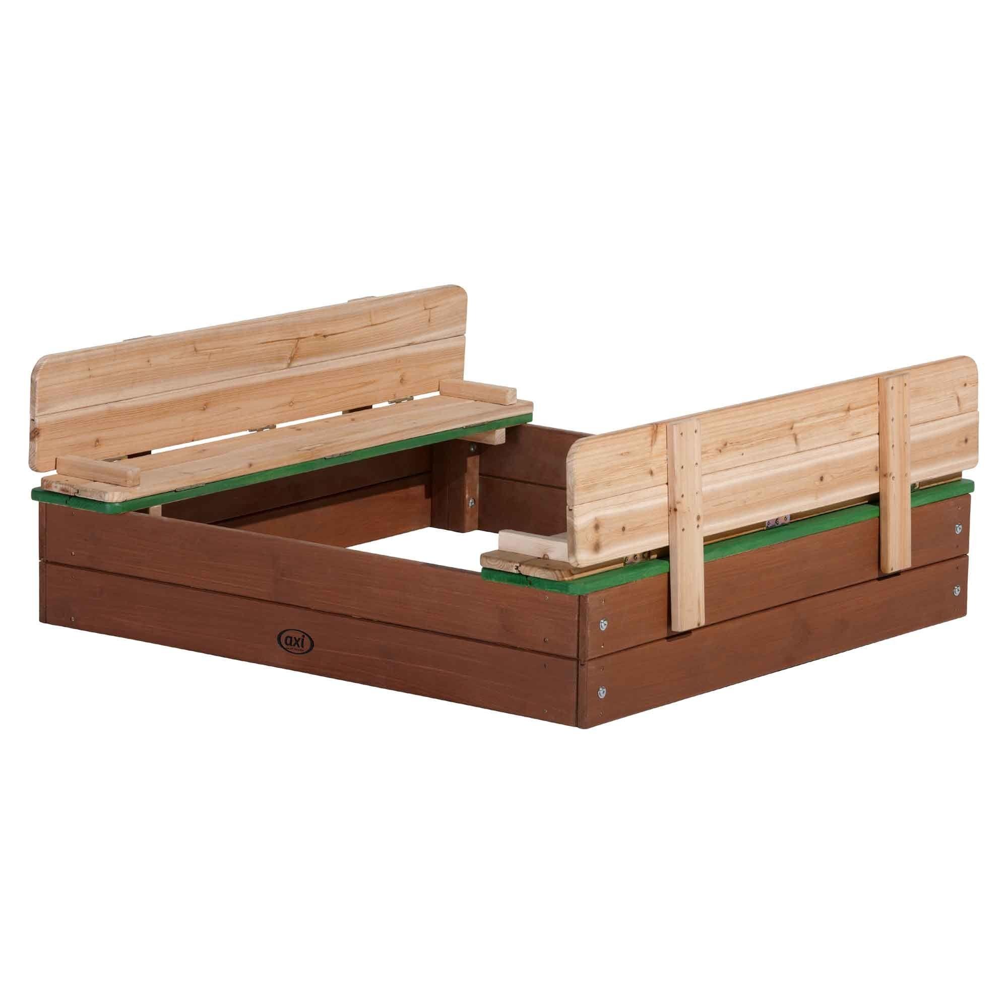 Axi Bac à sable en bois avec bancs