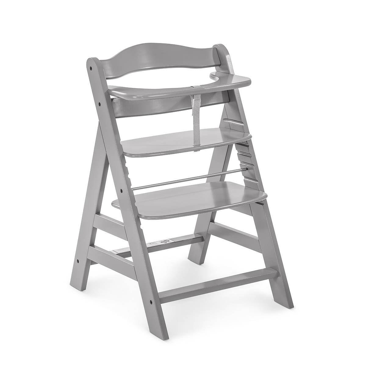 HAUCK Chaise haute gris
