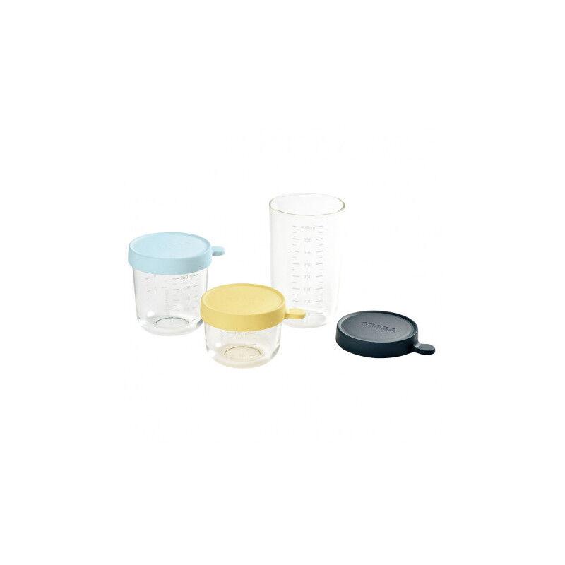Béaba Coffret 3 portions verre 150ml /250ml /400ml