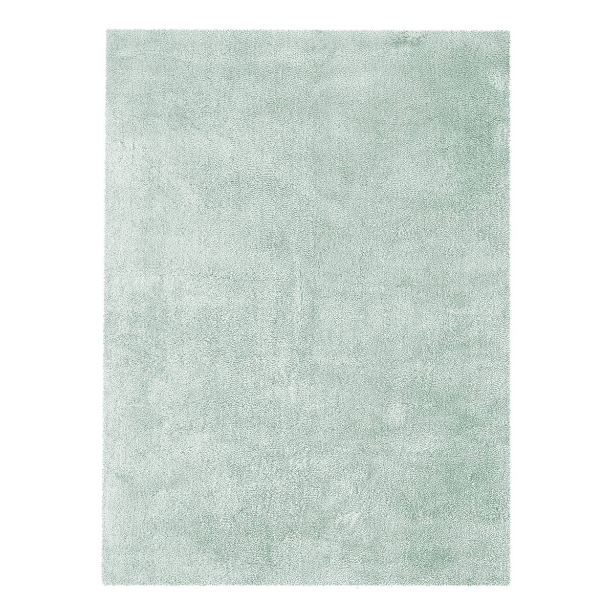 Novatrend Tapis shaggy en Polyester Bleu ciel 160x230 cm