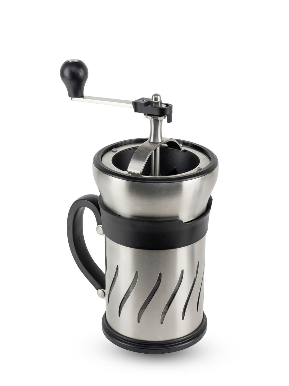 Peugeot Saveurs Moulin à café et cafetière à piston 2 en 1 H15cm