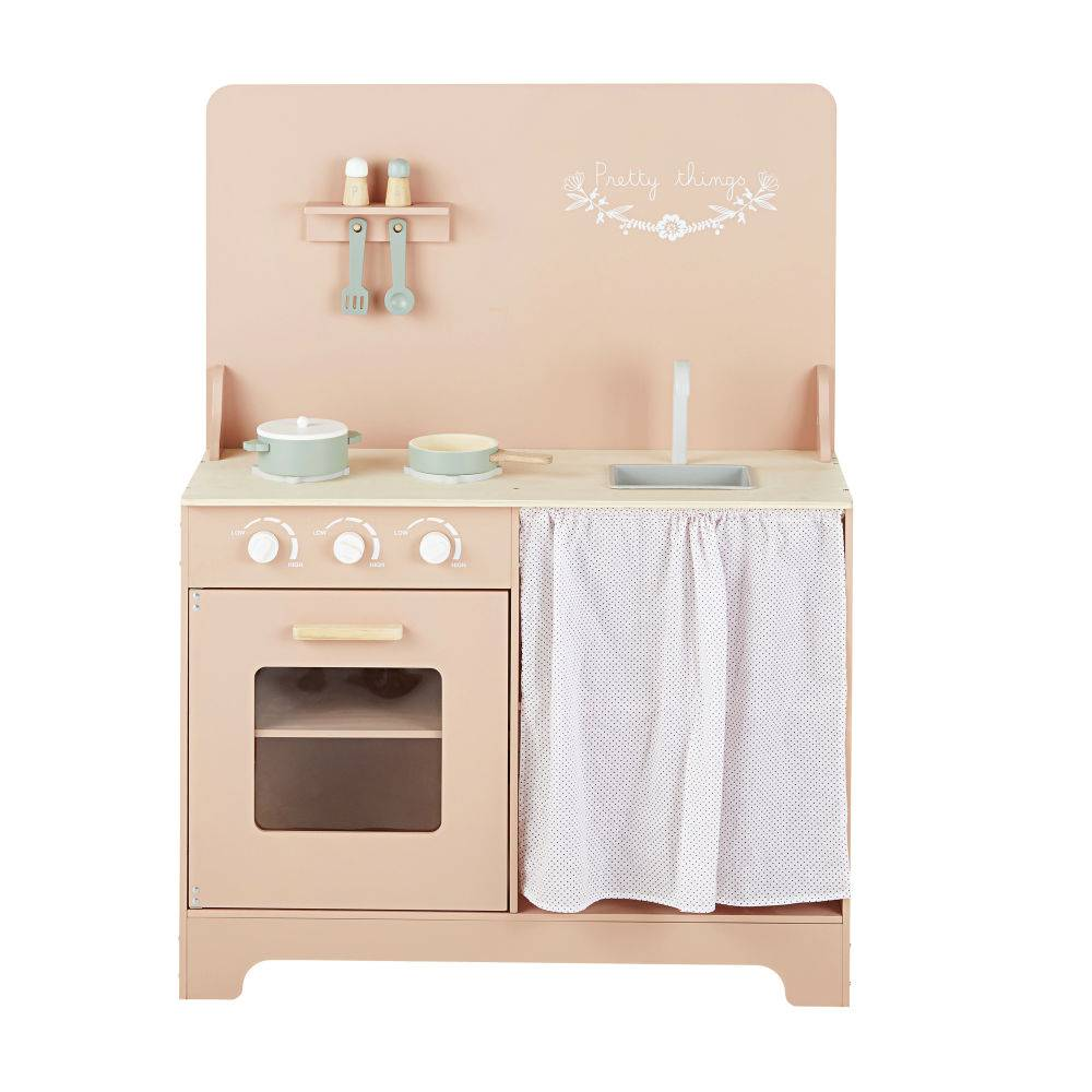 Maisons du Monde Cuisinière enfant rose