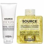 Duo de Shampooing Délicat et de Baume Éclat Source Essentielle L'Oréal... par LeGuide.com Publicité