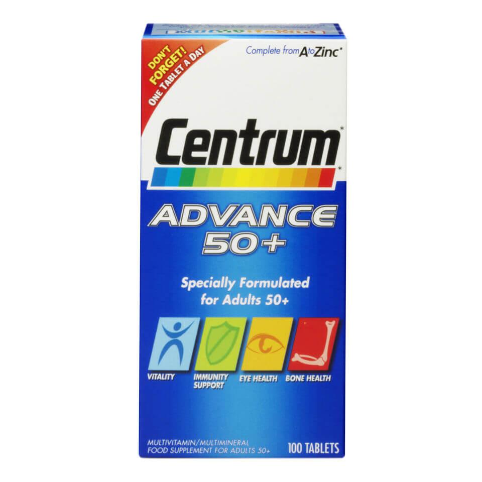 Centrum Multivitamines 50+ Centrum Advance – (100 comprimés)