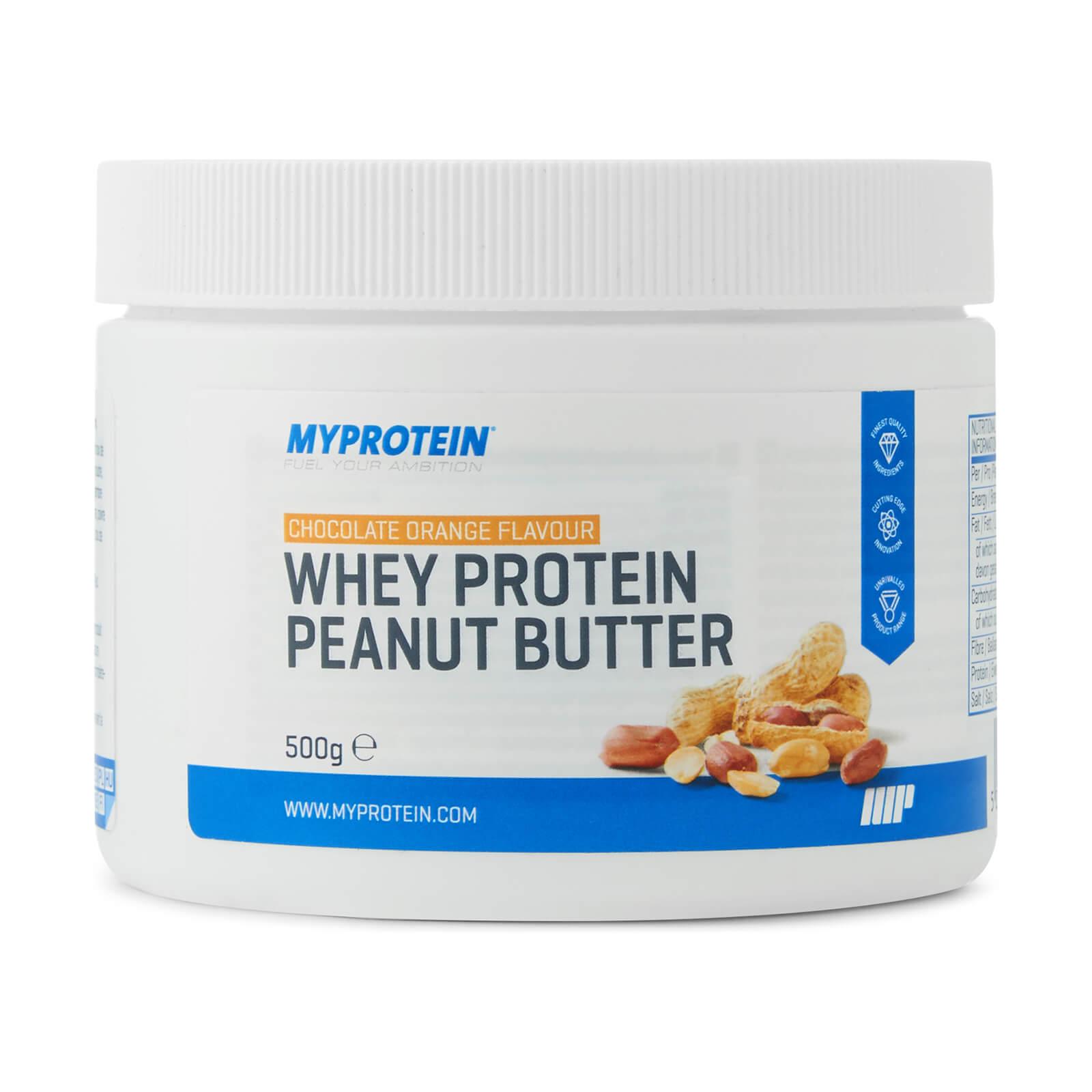 Myprotein Beurre de cacahuète protéiné - 500g - Chocolat-Orange