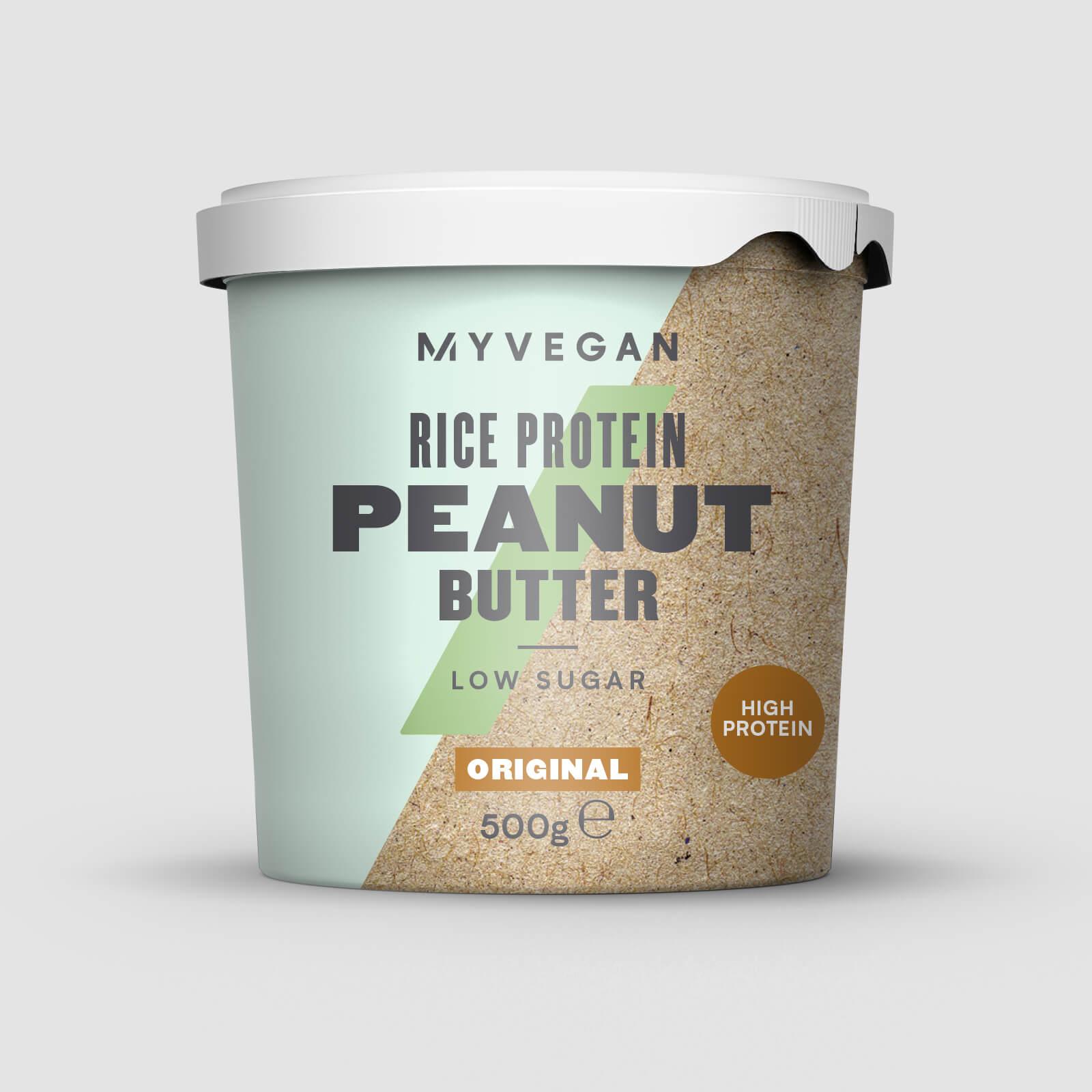 Myprotein Beurre de cacahuètes aux protéines de riz - 500g - Original