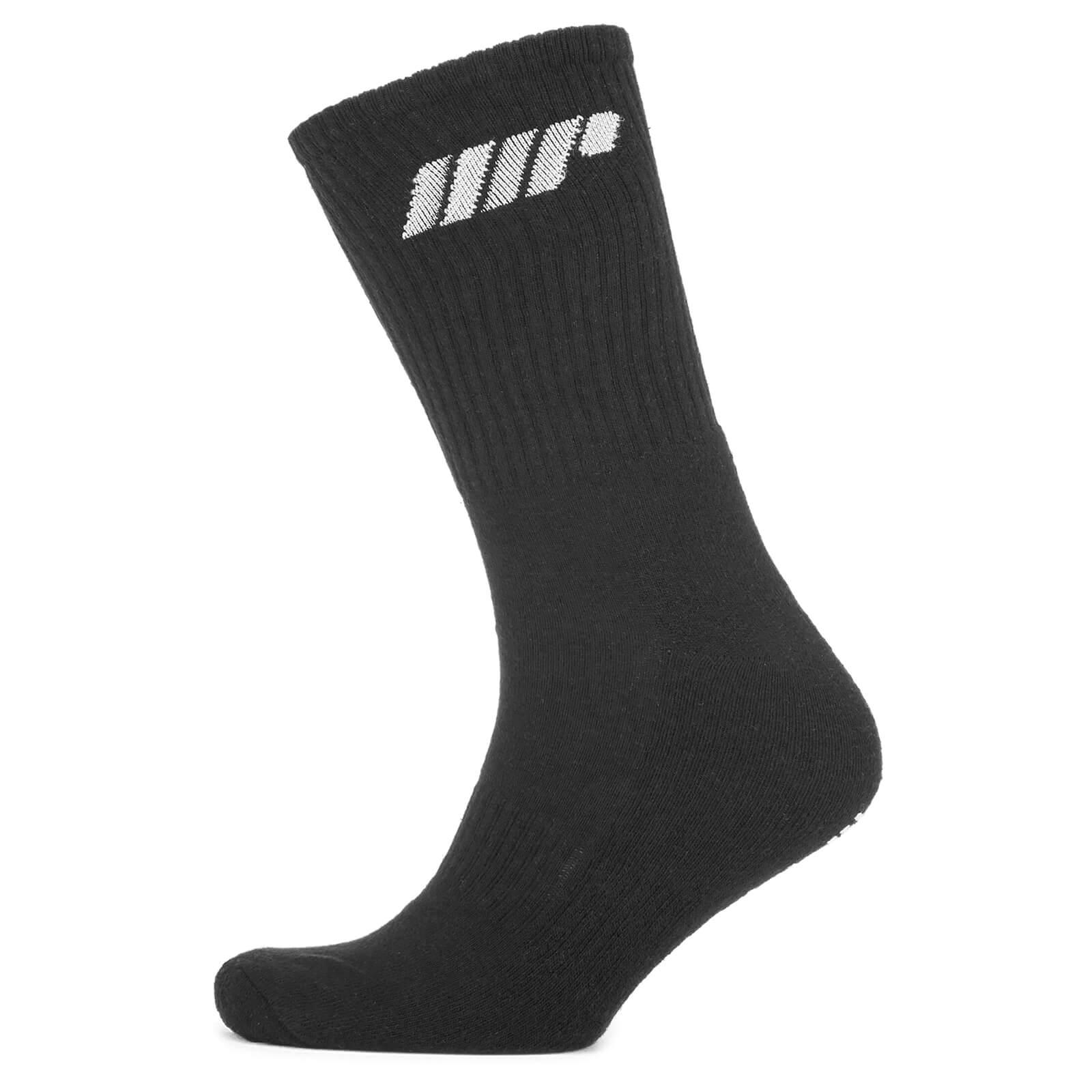 Myprotein 2 Pack Crew Socks - Slate Grey - UK 6-8 - Slate Grey