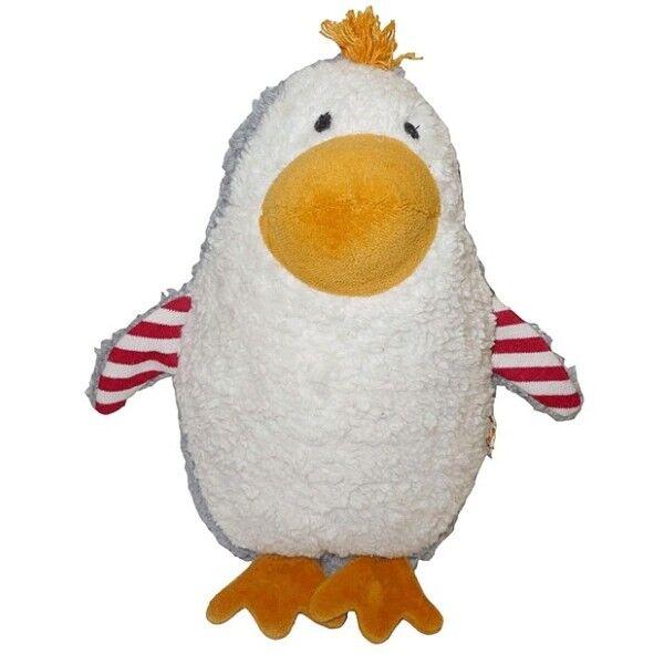 Lana Natural Wear Doudou Musical Lana Naturalwear Pingouin Ingo - Doudous pour bébé
