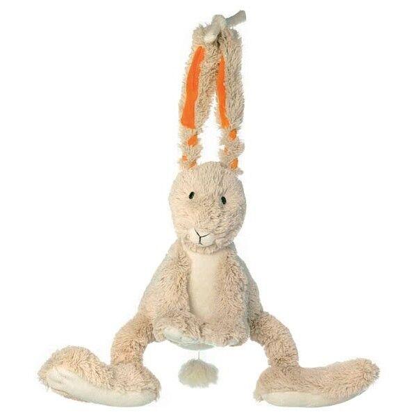 Happy Horses Lapin Ficelle Musical Happy Horse - Doudou pour bébé