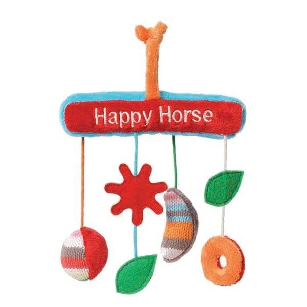 Happy Horses Mobile de Hochets Arc en Ciel Happy Horse - Peluches & Doudous