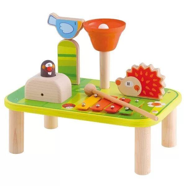 Sevi 1831 Mini Jardin Table Musicale jouet Sevi 1831 - Jouets en Bois