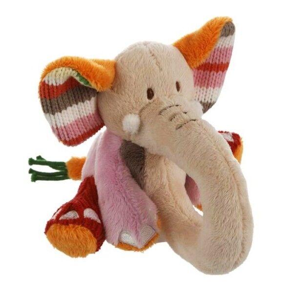 Happy Horses Hochet Elephant Gaby 11 cm Happy Horse - Peluches & Doudous