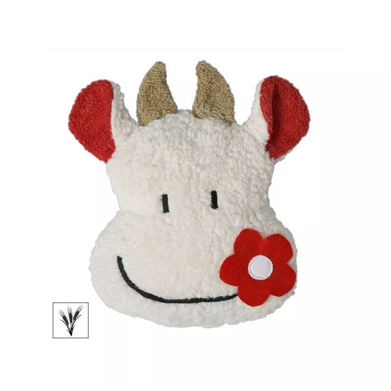 Efie Doudou Bouillotte Vache Coloré 25 cm Efie Coton Bio Organic ~
