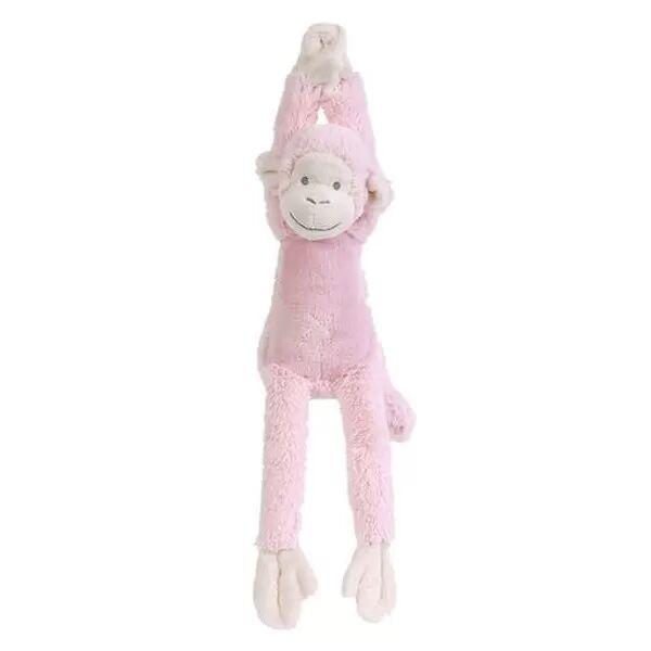 Happy Horses Peluche Musicale Singe Mickey Rose 37 cm Happy Horse - Doudou Musical