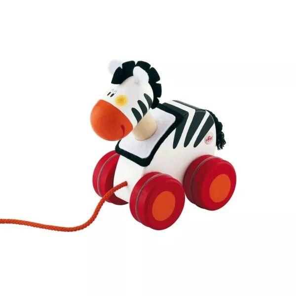 Sevi 1831 Mini jouet à traîner Zèbre Sevi 1831 - Jouets en Bois
