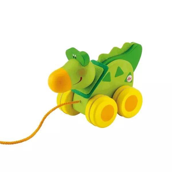 Sevi 1831 Mini jouet à traîner Crocodile Sévi - Jouets en Bois