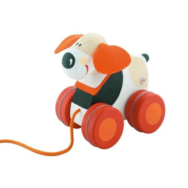 Sevi 1831 Mini jouet à traîner Chien Sevi 1831 - Jouets en Bois
