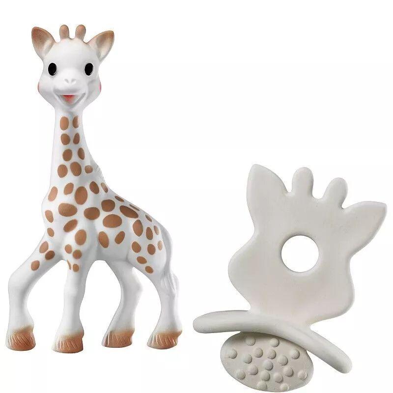 Sophie La Girafe Vulli® Sophie la Girafe® So'Pure & Chewing Rubber -  Jouet Caoutchouc Vulli®