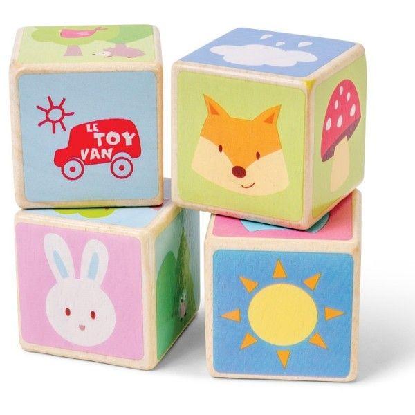 Le Toy Van® Cubes  en bois premier Age Le Toy Van® 'Amis de la forêt' - Jouets e