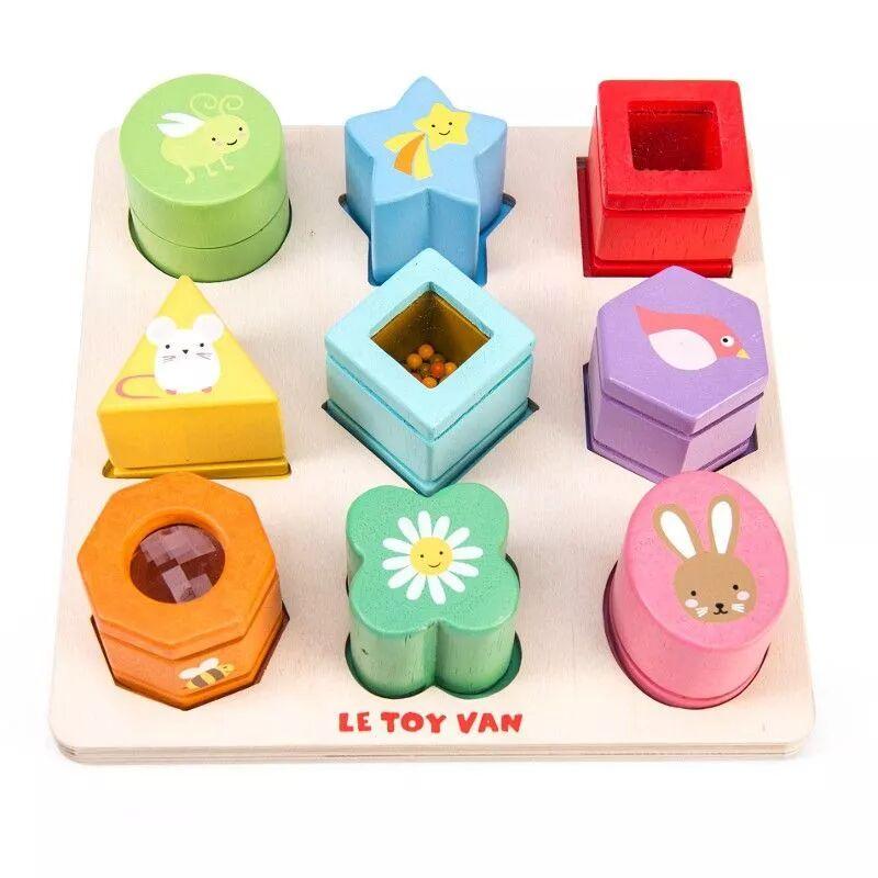 Le Toy Van® Puzzle Sensoriel Formes  en bois premier Age Le Toy Van® 'Amis de la