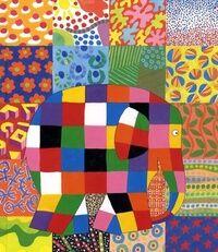 Le grand jour d'Elmer - David McKee - Livre