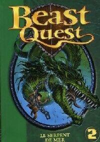 Garmin Beast quest Tome II : Sepron, le serpent de mer - Andy Blade - Livre