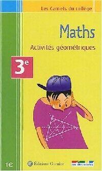Maths.Activités géométriques - Daniel Pompon - Livre