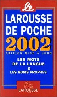 Larousse de poche 2002 - XXX - Livre