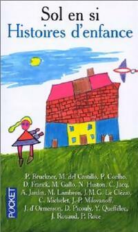 Histoires d'enfance - Collectif Sol en Si - Livre