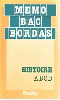 Histoire A, B, C, D - Claude Sibout - Livre