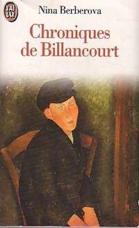 Chroniques de Billancourt - Nina Berberova - Livre