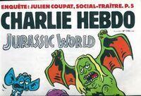 Charlie hebdo n°1194 : Jurassic World - Collectif - Livre