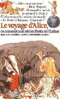 Le voyage d'Alice - Jean-Olivier Héron - Livre