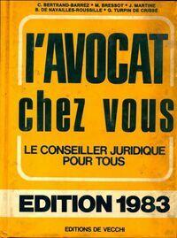 L'avocat chez vous 1983 - Collectif - Livre
