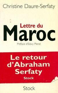 Lettre du Maroc - Christine Daure-Serfaty - Livre