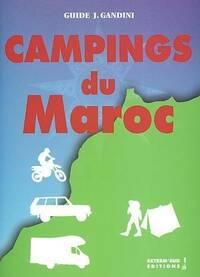 Campings du Maroc - Jacques Gandini - Livre