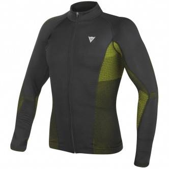 DAINESE Thermique DAINESE D-Core No-Wind Dry LS Black / Yellow Fluo