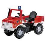RollyFire Unimog camion de pompiers avec boîte de vitesses, freins et... par LeGuide.com Publicité