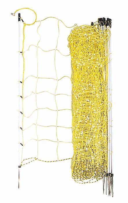 Filet cloture chevre avec rigidificateur 0,9 m - Ukal