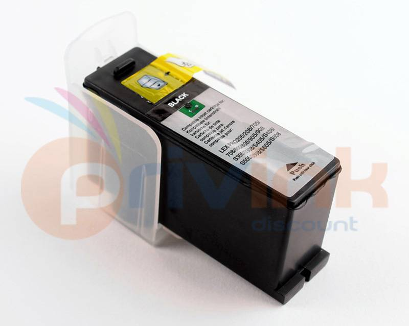 Lexmark Cartouche d'encre COMPATIBLE noir pour LEXMARK INTERPRET S400 (Ref OEM : 14N1068) PRIV_R14N1068E LEXMARK 100XL (014N1068E)