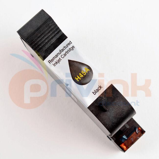HP Cartouche d'encre COMPATIBLE noir pour HP DESKJET 855CSE (Ref OEM : 51645AE) PRIV_R51645A HP45 (HP 45 NOIR)