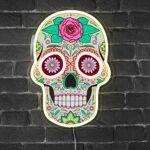 SkyLantern® Original Lampe Neon Calavera - Dia de Los Muertos Lampe Neon... par LeGuide.com Publicité
