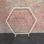 SkyLantern® Original Arche Mariage Hexagonale Bois 1,70 M Arche De Mariage... par LeGuide.com Publicité