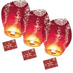 SkyLantern® Original Lot de 3 Lettres au Père Noël volante® Lanternes... par LeGuide.com Publicité