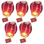 SkyLantern® Original Lot de 5 Lettres au Père Noël volante® Lanternes... par LeGuide.com Publicité